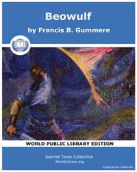 Beowulf by Gummere, Francis B.