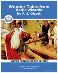 Wonder Tales from Baltic Wizards by Olcott, F. J.