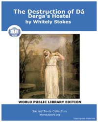 The Destruction of Dá Derga's Hostel by Stokes, Whitely