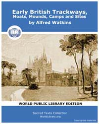 Early British Trackways, Moats, Mounds, ... by Watkins, Alfred