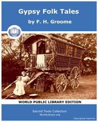 Gypsy Folk Tales by Groome, F. H.