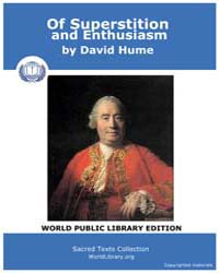 Of Superstition and Enthusiasm by Hume, David