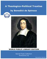 A Theologico-Political Treatise by Spinoza, Benedict de