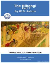The Nihongi, Part 1 by Ashton, W. G.