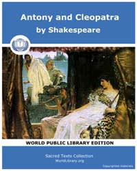 Antony and Cleopatra by Shakespeare