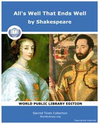 All's Well That Ends Well by Shakespeare
