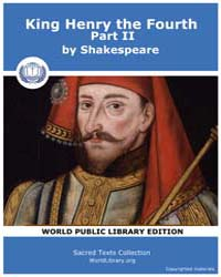 King Henry the Fourth, Part II by Shakespeare