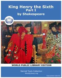 King Henry the Sixth, Part I by Shakespeare