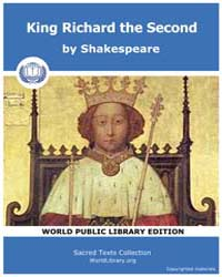 King Richard the Second by Shakespeare