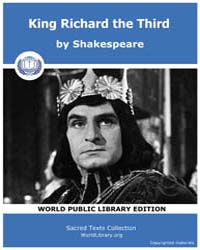King Richard the Third by Shakespeare