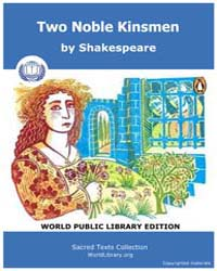 Two Noble Kinsmen by Shakespeare