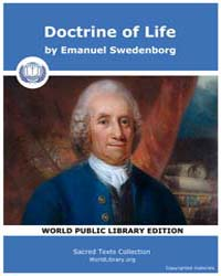 Doctrine of Life by Swedenborg, Emanuel