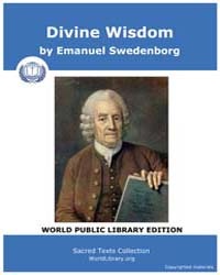 Divine Wisdom by Swedenborg, Emanuel