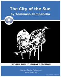The City of the Sun by Campanella, Tommaso