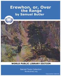 Erewhon, or, Over the Range by Butler, Samuel