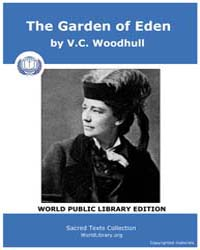 The Garden of Eden by Woodhull, V. C.