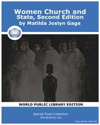 Women Church and State, Second Edition by Gage, Matilda Joslyn