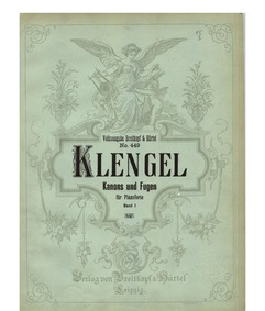Canons and Fugues for Piano : Part 1 by Klengel, August Alexander