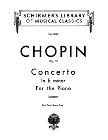 Piano Concerto No.1, Op.11 : Complete Sc... Volume Op.11 by Chopin, Frédéric