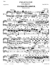 Polonaise in G-sharp minor, B.6 : Comple... Volume B.6 ; Op.P.1 No.3 by Chopin, Frédéric