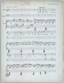 Extase : Piano Score, Voice (Mezzo Sopra... by Fabricius, Jacob