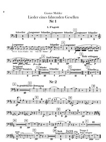 Songs of a Wayfarer (Songs of a Travelli... by Mahler, Gustav