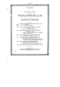 7 Short Pieces in the First Position, Op... Volume Op.112 by Nölck, August