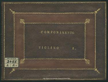 Componimento per musica (Componimento pe... by Ristori, Giovanni Alberto