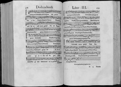 Dodecachordon : 11 (scans 201-220, Liber... by Glareanus, Henricus