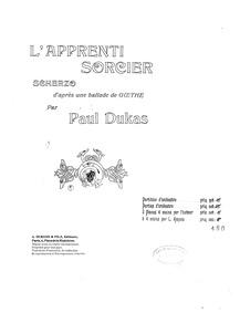 L'apprenti sorcier (Sorcerer's Apprentic... by Dukas, Paul