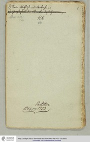 Sein Rat ist wunderbar, GWV 1136/23 : Co... Volume GWV 1136/23 by Graupner, Christoph