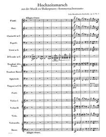 Musik zu Ein Sommernachtstraum (A Midsum... Volume Op.61, List of works by Felix Mendelssohn|MWV M 13 by Mendelssohn, Felix