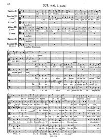 Laudate Dominum quoniam bonus : Complete... by Lassus, Orlande de