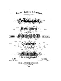 Le Bouquet (Divertissement sur des mélod... Volume Op.33 by Lee, Sebastian