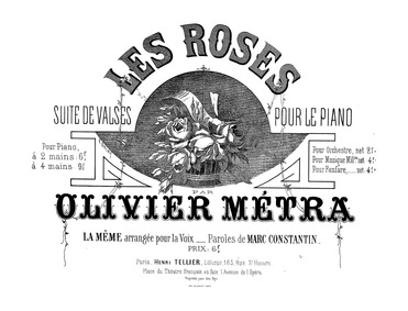 Les roses (Summer Fancies (Balmy and sof... by Métra, Olivier