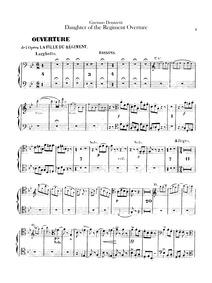 La fille du régiment (Opéra comique en d... by Donizetti, Gaetano
