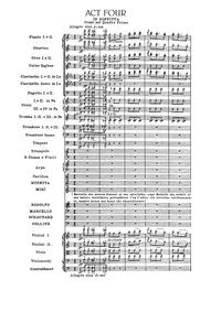 La bohème : Act IV by Puccini, Giacomo