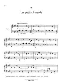 Au jardin (Scènes mignonnes pour piano) ... by Dubois, Théodore