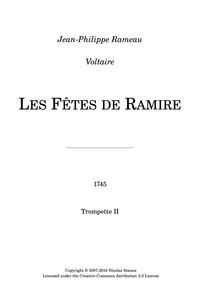 Les Fêtes de Ramire (Acte de ballet) : T... by Rameau, Jean-Philippe