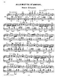 Allumette d'Amour (Danse élégante de sal... Volume Op.269 by Voss, Charles