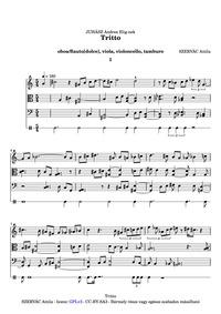 Tritto : Complete Score by Szervác, Attila