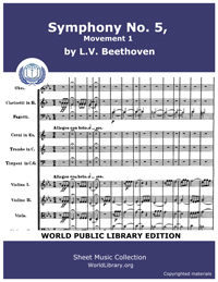 Symphony No. 5, Movement 1 by Beethoven, Ludwig Van