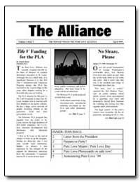 The Alliance : Title V Funding for the P... by Kittel, Robert