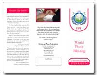 World Peace Blessing by Moon, Hak Ja Han, Dr.