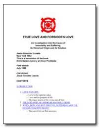 True Love and Forbidden Love an Investig... by Losada, Jesus Gonzalez