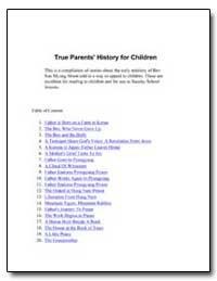 True Parent's History for Children #1 Fa... by Garcia, Chris