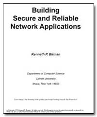 Building Secure and Reliable Network App... by Birman, Kenneth P.