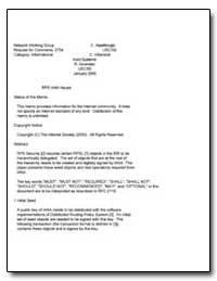 Rps Iana Issues by Alaettinoglu, C.