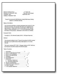 Textual Conventions for Mib Modules Usin... by Tesink, K.