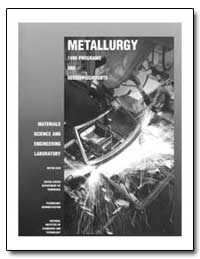 Metallurgy Materials Science and Enginee... by